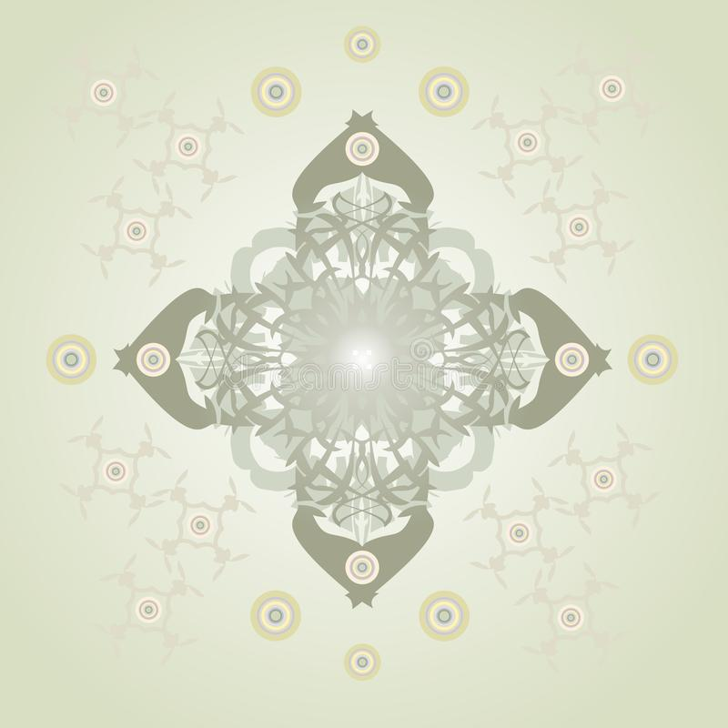 Ornate Vector Cross Stock Images