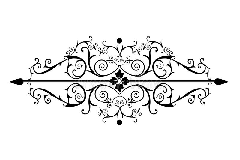 Download Ornate Victorian Scrolls In Black Stock Images - Image: 13174074