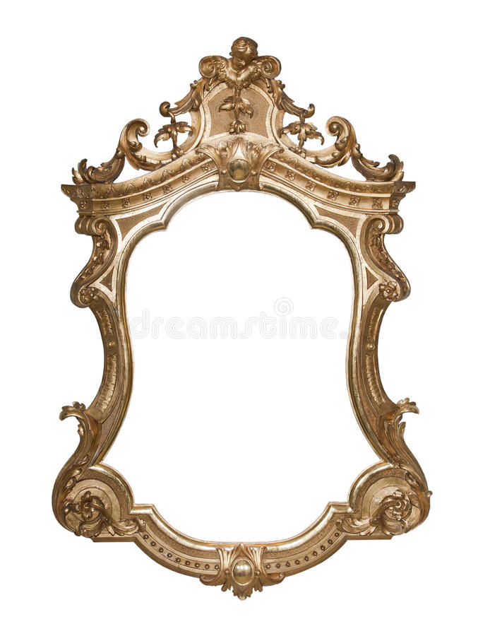 Free Ornate Vintage Frame Royalty Free Stock Image - 16163296