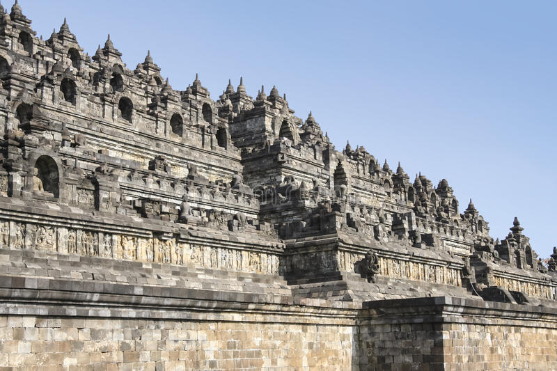 Download Borobudur Pyramid Temple Walls Java Indonesia Stock Image - Image: 30218885