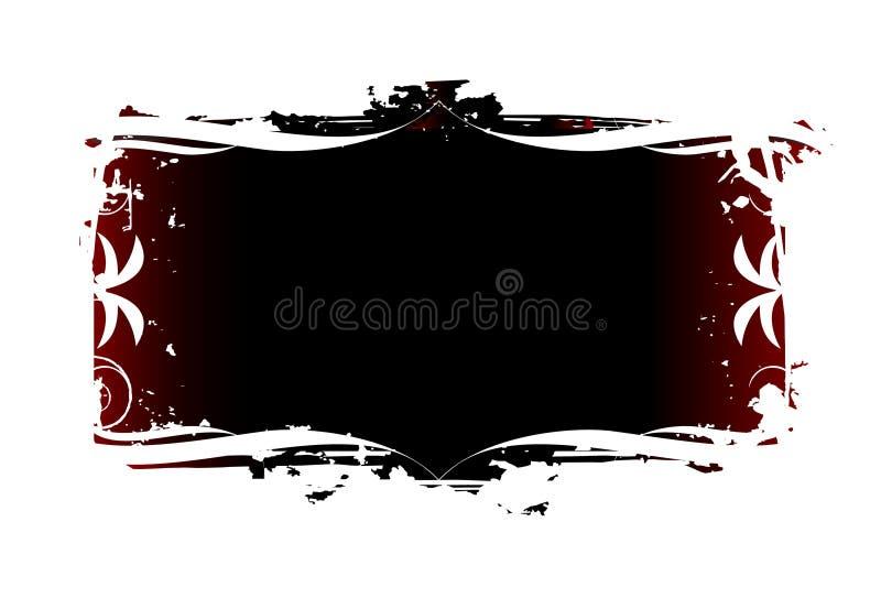 Ornato/Grunge illustrazione vettoriale