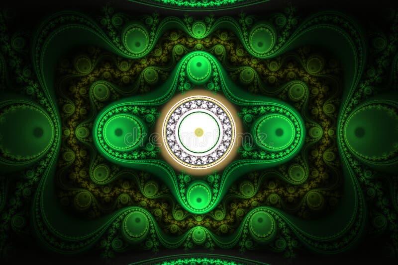 ornement abstrait de fractale images stock