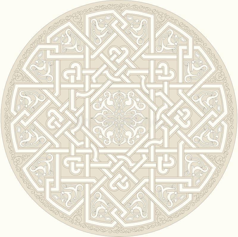 Ornement Arabe illustration de vecteur
