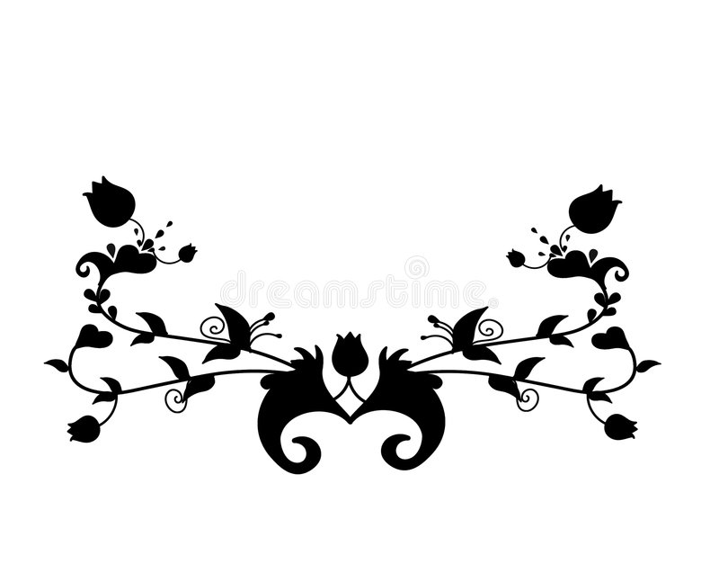 Ornement avec le motif celtique illustration de vecteur