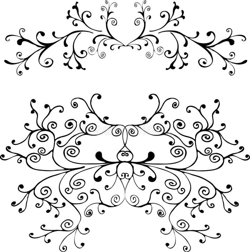 Ornement décoratif illustration de vecteur