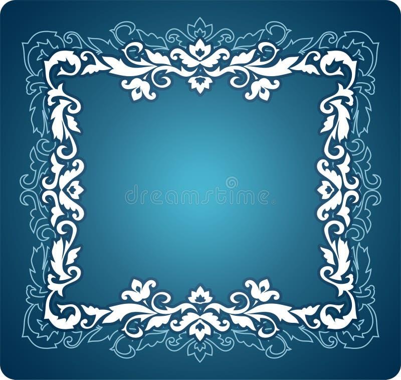 Ornement décoratif de cadre illustration stock
