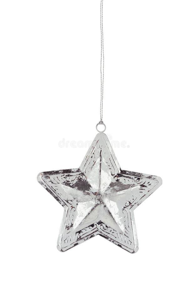 Ornement d'étoile de Noël images libres de droits