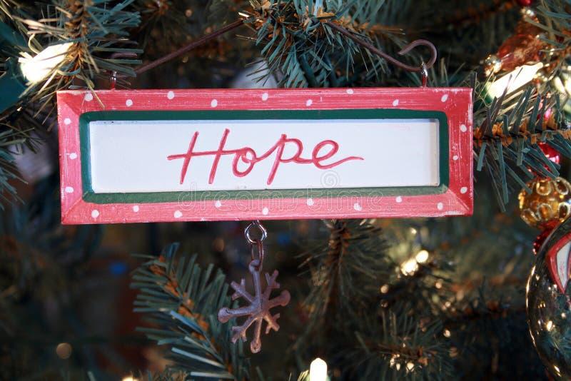 ornement d'espoir images stock