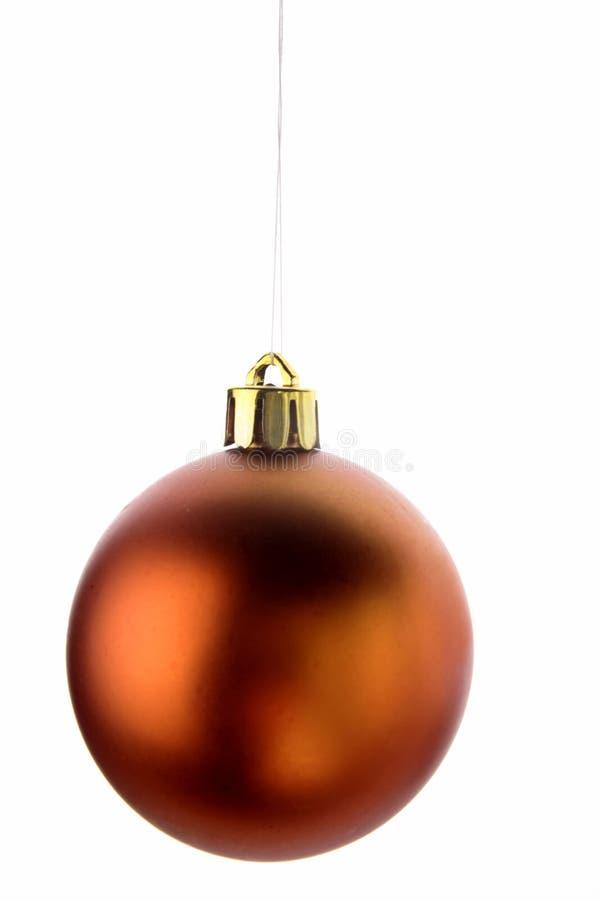 Ornement d'isolement de Noël photo libre de droits