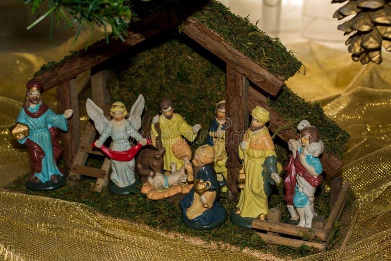 Ornement d'un arbre de Noël décoré image libre de droits