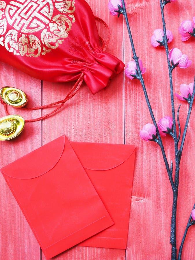 Ornement de fond chinois de carte de nouvelle année photo libre de droits
