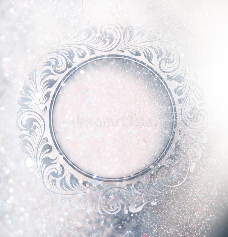 Ornement de gel image stock