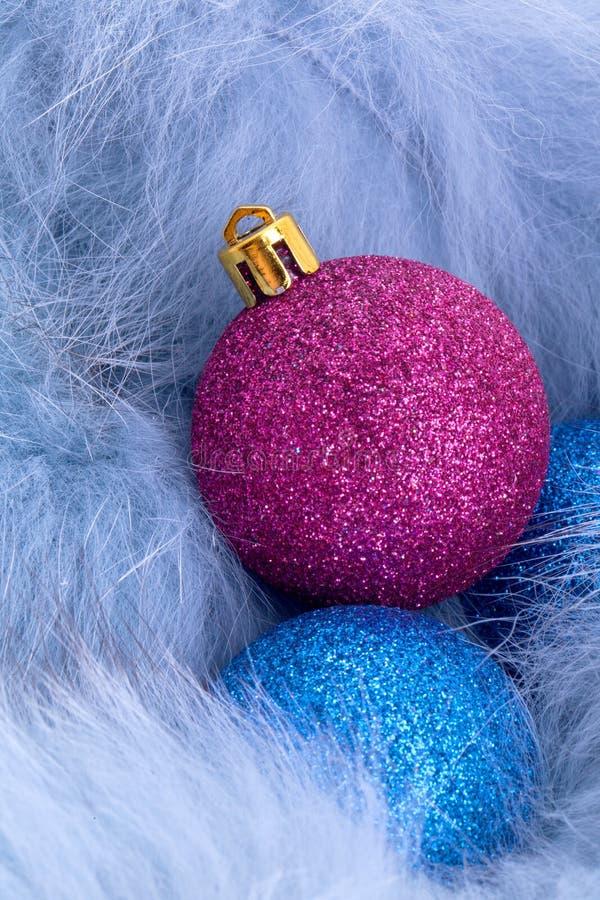 Ornement de luxe de bille de Noël images stock