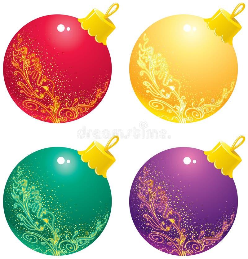 Ornement de Noël illustration de vecteur