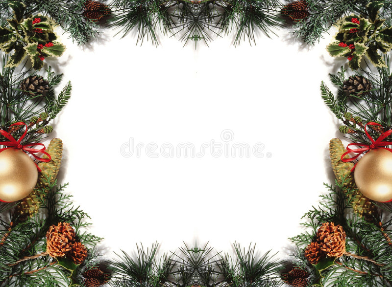 Ornement de Noël image stock