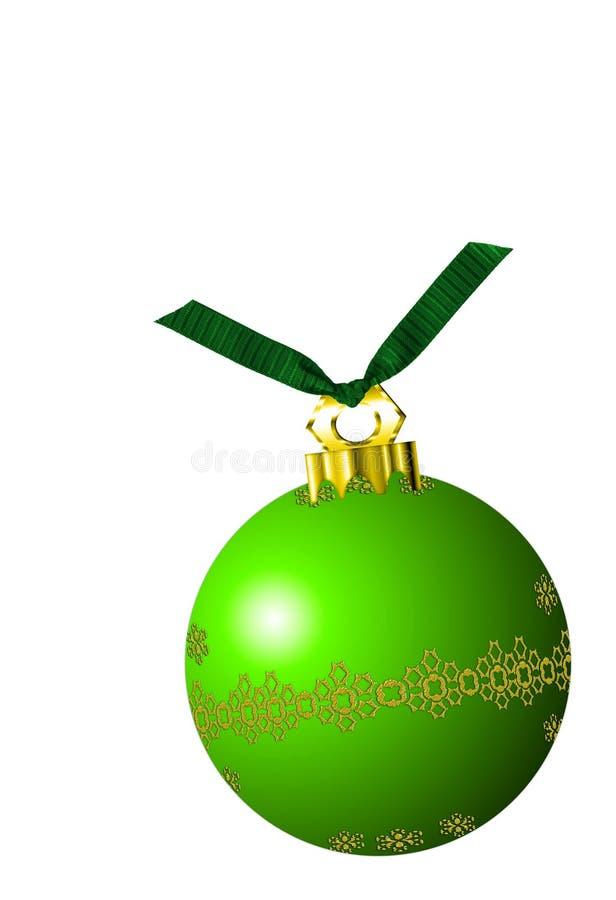 Ornement de Noël illustration stock