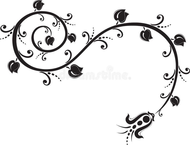 Ornement de tatouage images libres de droits