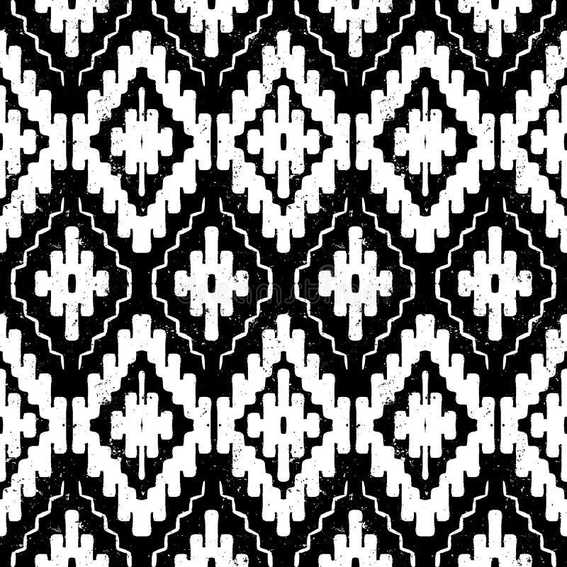 Ornement de tribal de Navajo de vecteur illustration de vecteur