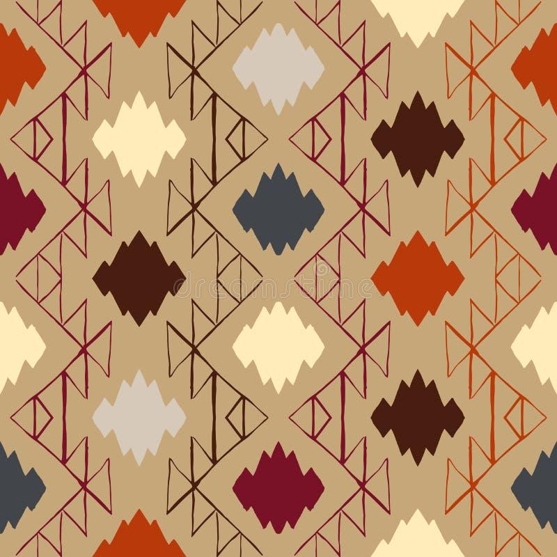 Ornement de tribal de Navajo de vecteur illustration stock