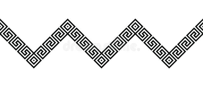 Ornement du grec ancien illustration de vecteur