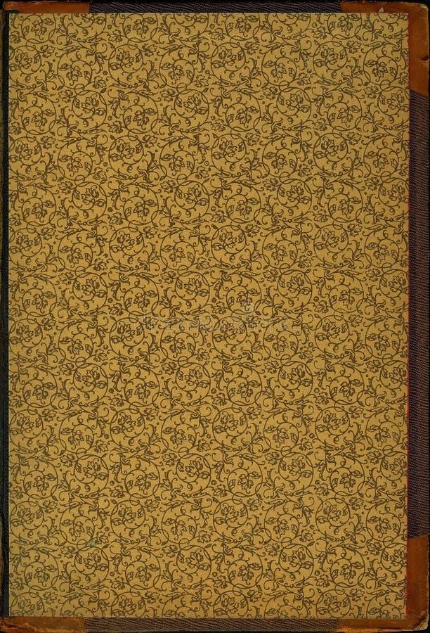 Ornement enroulé floral de cru illustration de vecteur