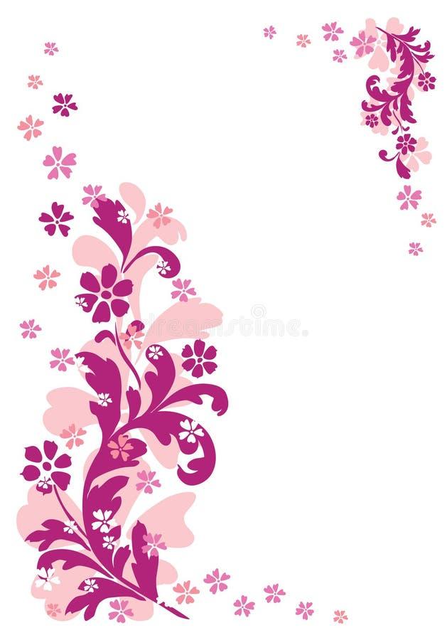 Ornement Floral Abstrait Photo libre de droits