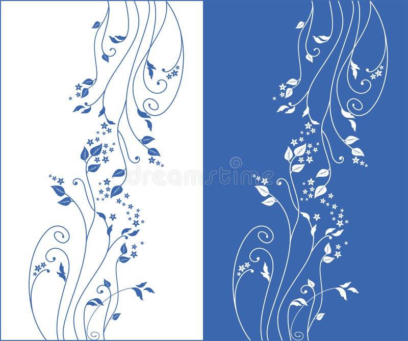Ornement floral de vecteur illustration stock