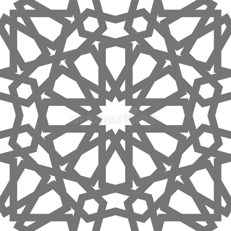 ornement g om trique de vecteur islamique art arabe. Black Bedroom Furniture Sets. Home Design Ideas