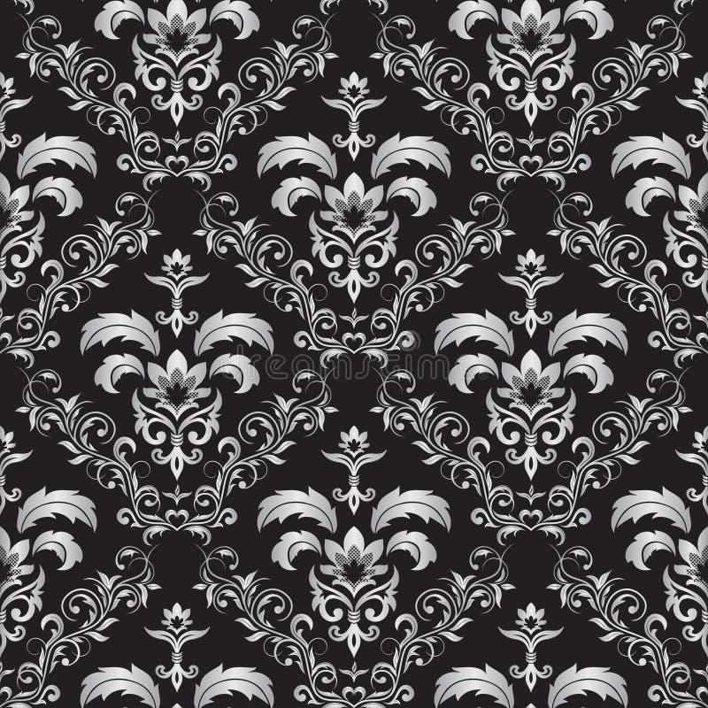 Ornement gothique sans joint illustration de vecteur