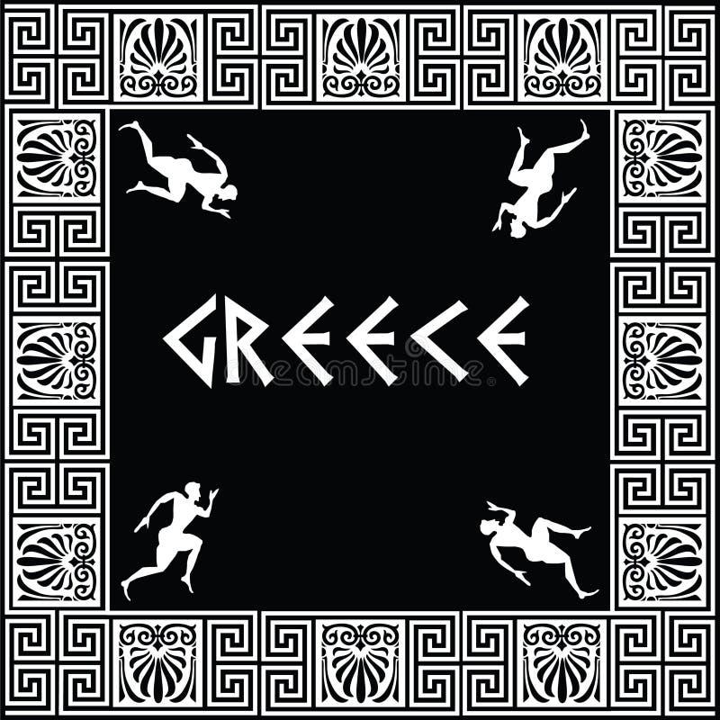 Ornement grec illustration libre de droits