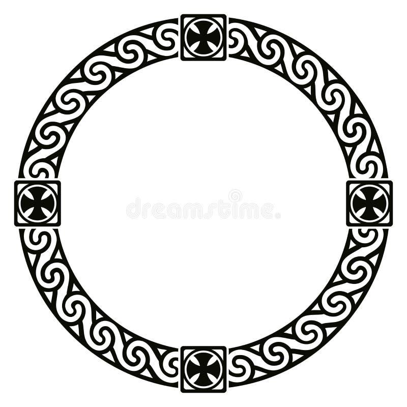 Ornement national celtique illustration de vecteur