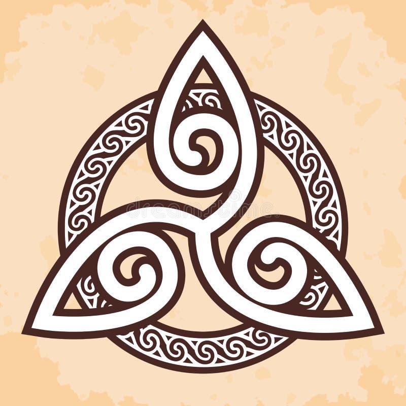 Ornement national celtique illustration stock