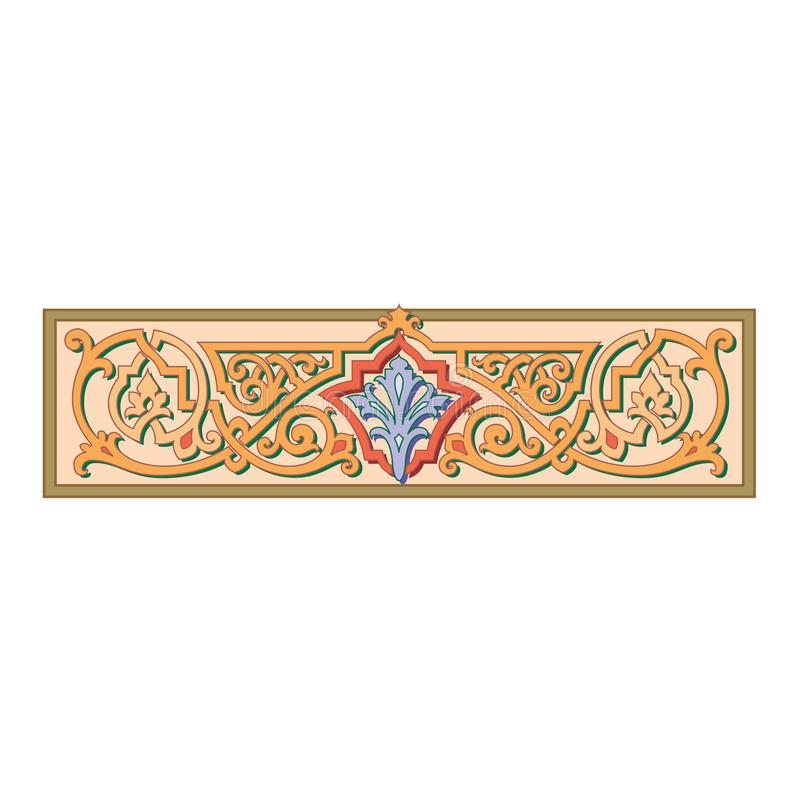 Ornement oriental celtique russe - conceptions d'illustration illustration stock