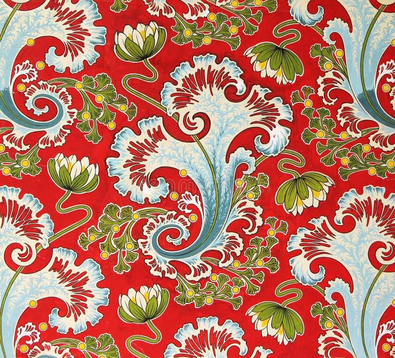 Ornement Original De Tissu De Textile Du Style Moderne Russe La