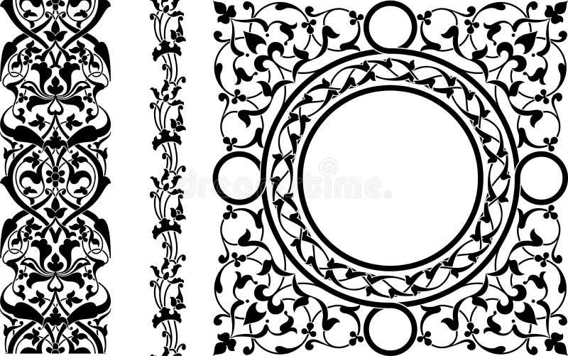 Ornement persan illustration de vecteur