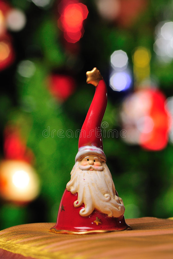 ornement Santa de Claus photos stock