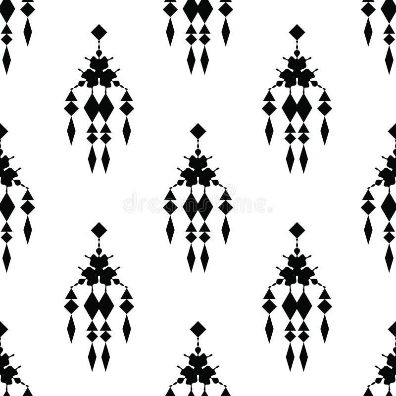 Ornement tribal illustration stock