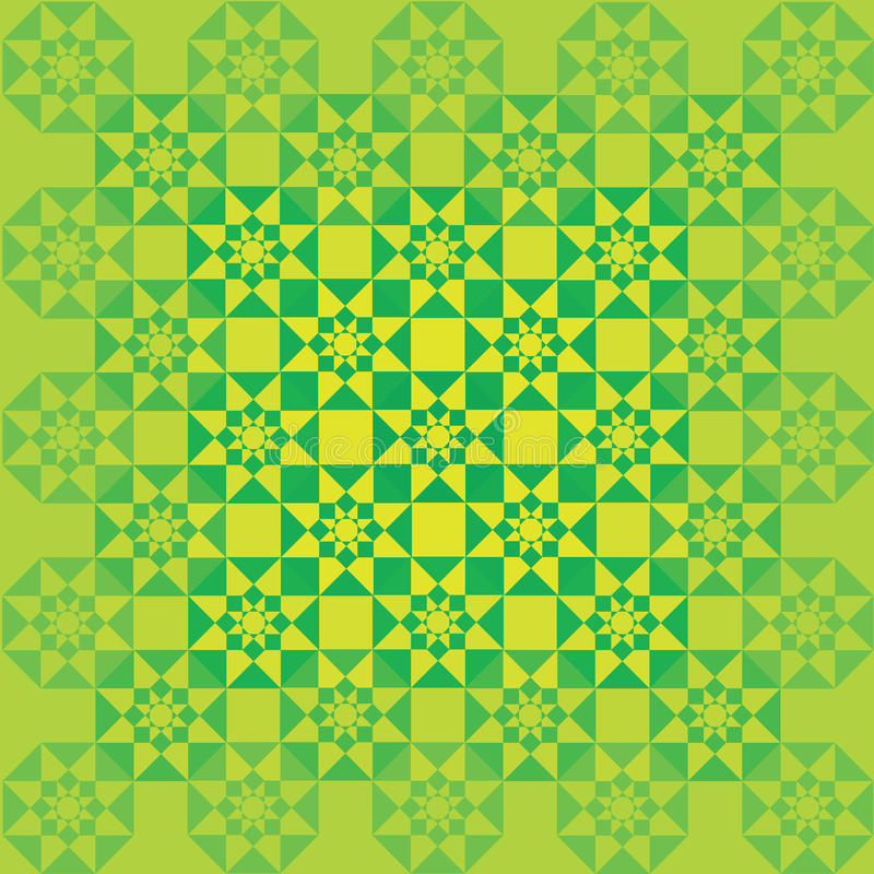 Ornement vert photo stock
