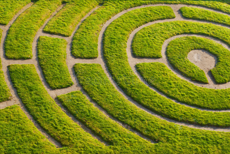 Download Ornemental garden stock photo. Image of empty, grass, outdoor - 8347574