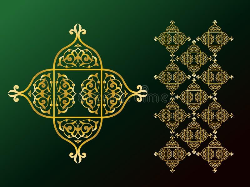 Ornements arabes illustration libre de droits