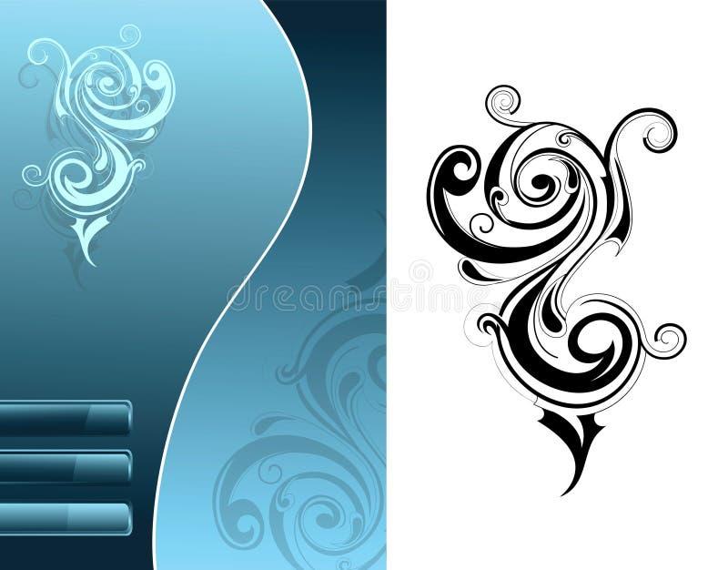 Ornements décoratifs illustration libre de droits