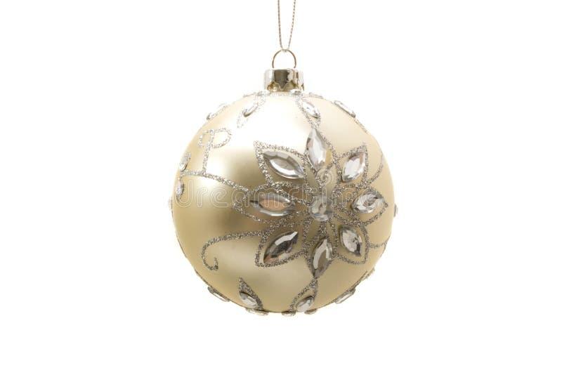 Ornements décoratifs de Noël photo libre de droits