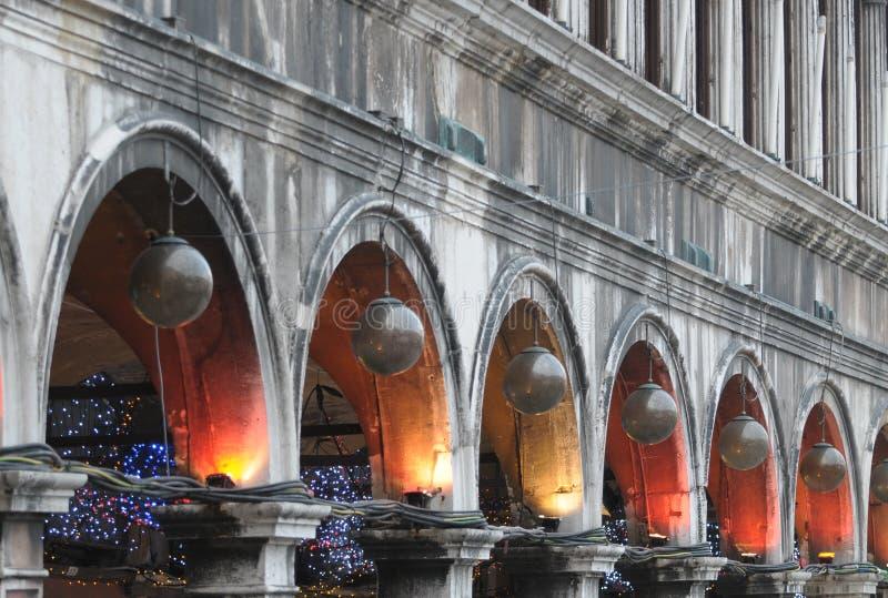 Ornements de Noël à Venise photos libres de droits