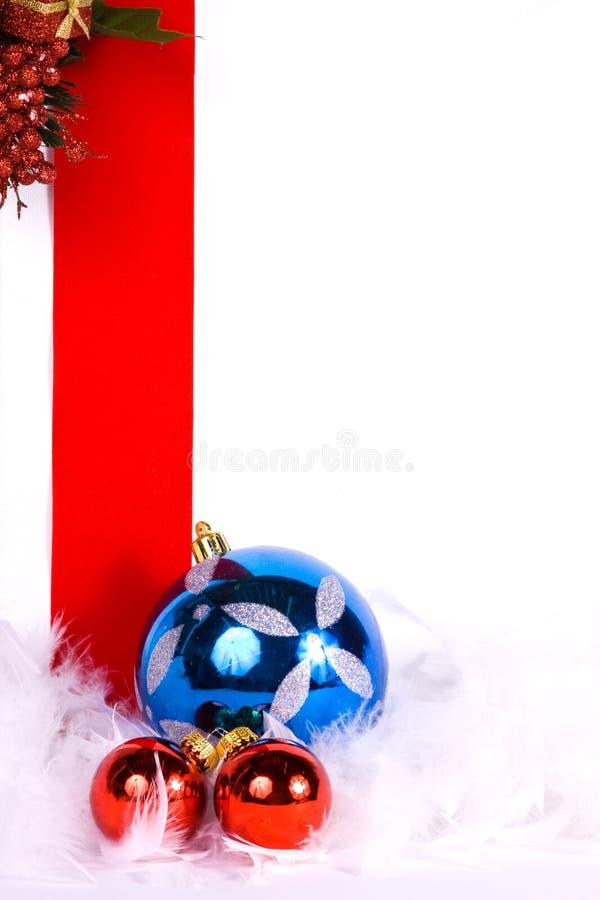 Ornements de Noël image libre de droits