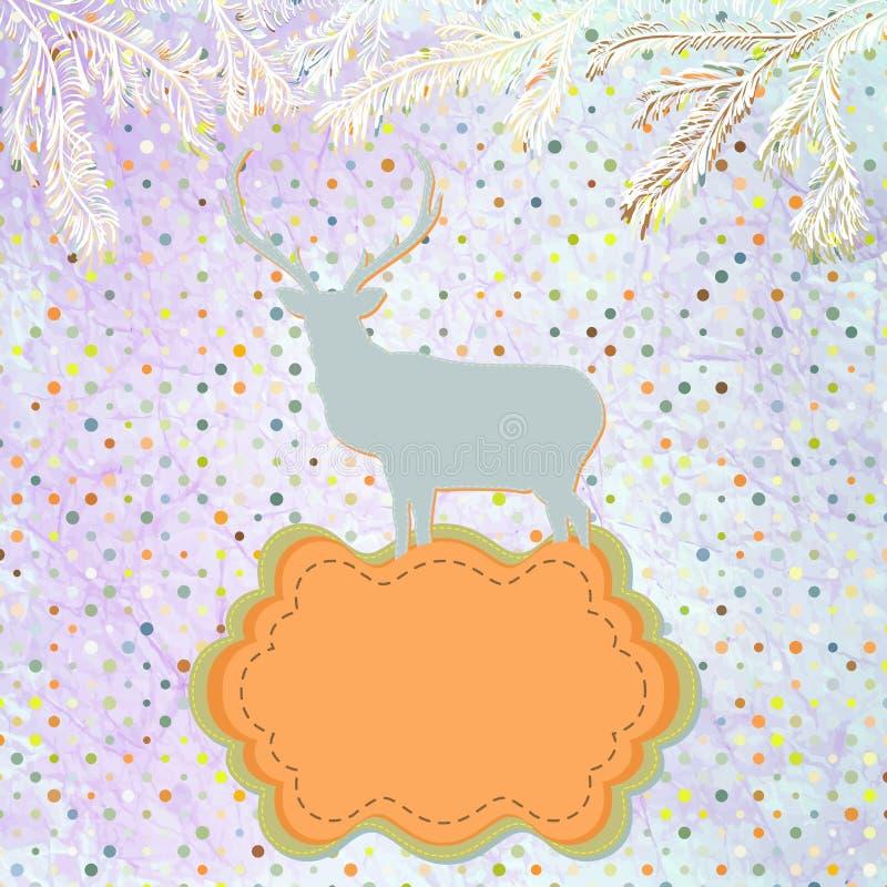 Ornements de Noël faits à partir des flocons de neige. ENV 8 illustration stock