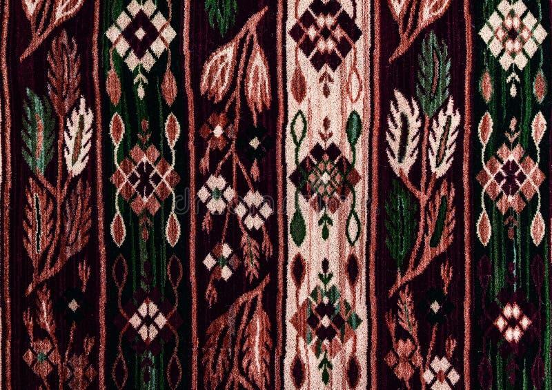 Ornements sans couture folkloriques roumains de modèle Broderie traditionnelle roumaine Conception ethnique de texture Conception images stock