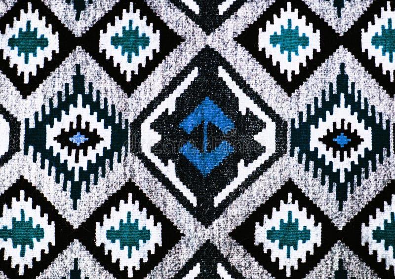 Ornements sans couture folkloriques roumains de modèle Broderie traditionnelle roumaine Conception ethnique de texture Conception illustration de vecteur