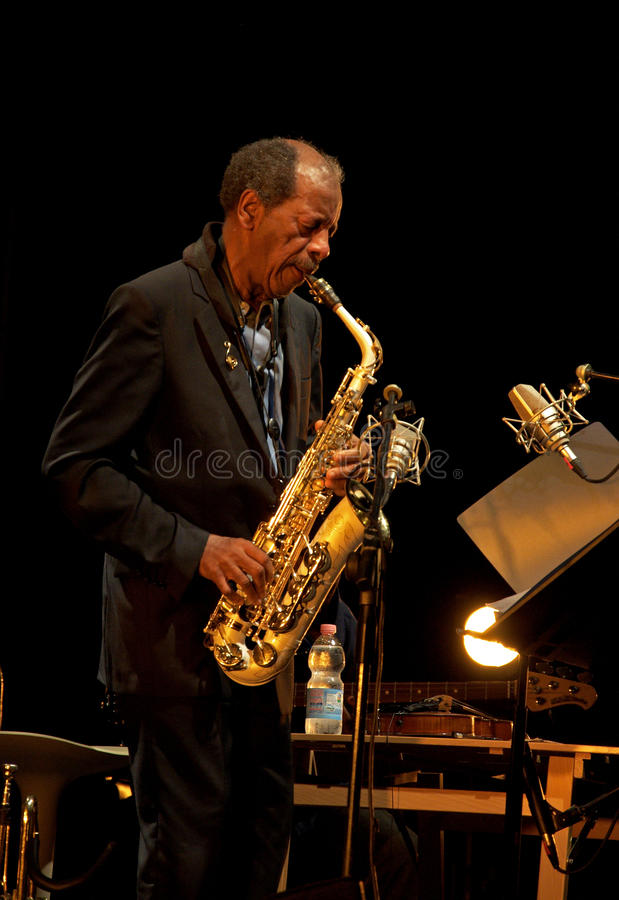 Ornette Coleman fotos de stock royalty free
