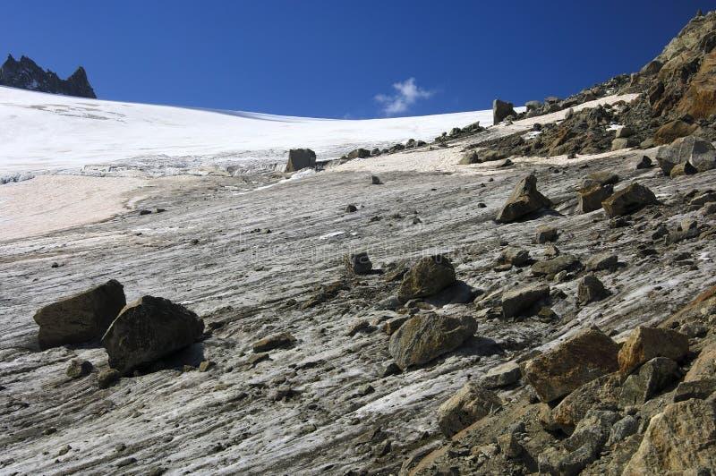 Orny Glacier, Pennine Alps, Switzerland Royalty Free Stock Photography