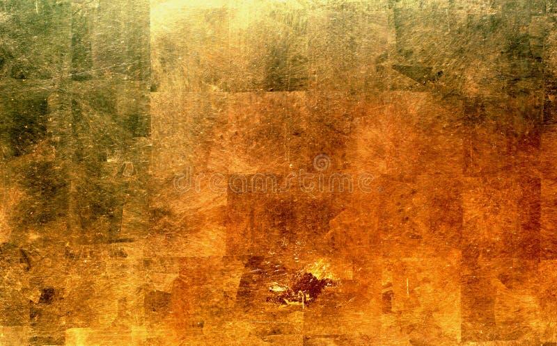 Oro ilustración del vector